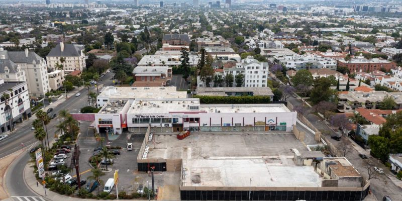 Former Garden of Allah Hotel site being cleared for Frank Gehry-designed mixed-use project