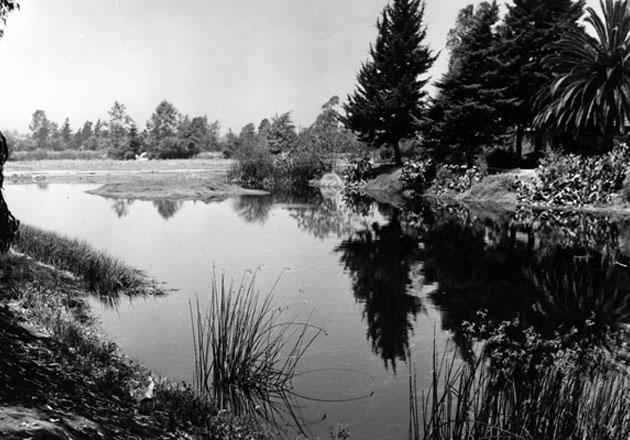 La Brea Tar Pits ca. early 20th century