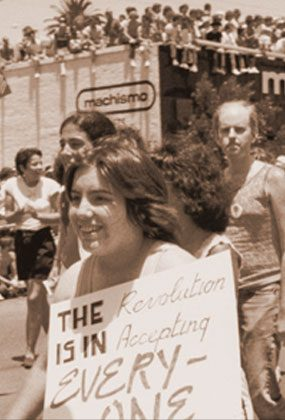 GAY RIGHTS: In 1951, the pioneering gay rights group ONE formed in West Hollywood. Over the ensuing decades, the area became a center of LGBT life and a focus for gay civil rights nationwide.
