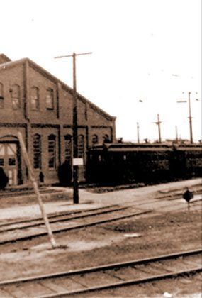 SHERMAN YARDS: In the 1890s, Moses Sherman and partners built a streetcar yard at what is now the intersection of Santa Monica and San Vicente Blvds. The village of Sherman grew up around the yards, establishing the historic core of West Hollywood.