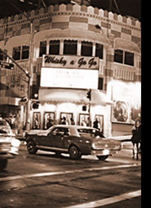 ROCK MECCA The opening of PJ's Discotheque on Santa Monica at Crescent Heights in 1961 introduced rock 'n roll to West Hollywood. Four years later, the Whisky a Go-Go opened on the Strip, launching a revolution.